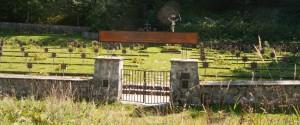 Kirkegård inne i Østerrike