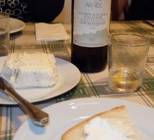 Perfekt vin til Gorgonzola!