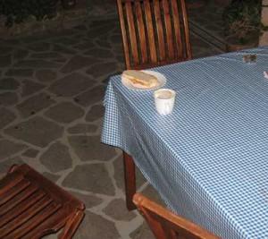 Italiensk frokost før avreise