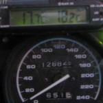 Fin temperatur ved avreise fra Montemagno