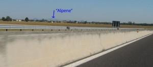 Det som i teorien er første blikk på Alpene