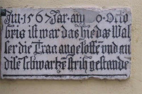 Storflom i 1567
