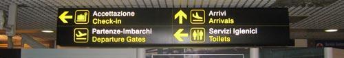 Flyplassen i Firenze