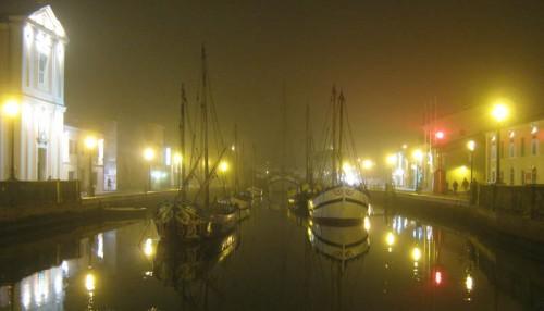 Båtmuseum i kanalen