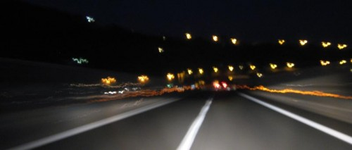 Natt - nesten hjemme