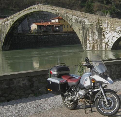 Bamsefar og Ponte della Maddalena