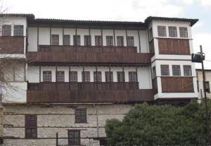 Typisk hus i Kastoria