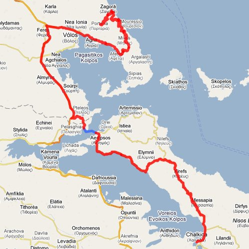 Klikk p kartet for å komme til Google Maps
