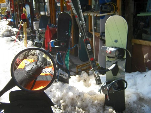 Perfekt dag for slalom