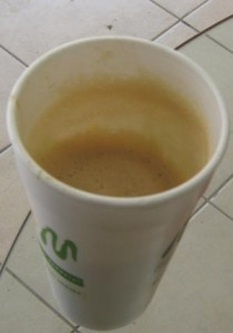 """""""Kaffe"""".  Sukk!"""