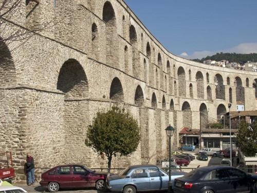 Akvadukten i Kavala