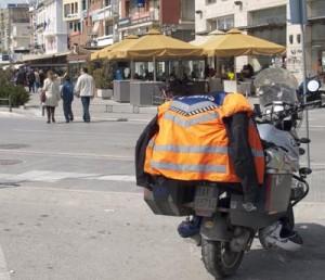 Lett synlig motorsykkel