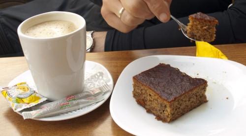 "Kaffe (ikke ""kaffe"") og kake (ikke ""kake"")"