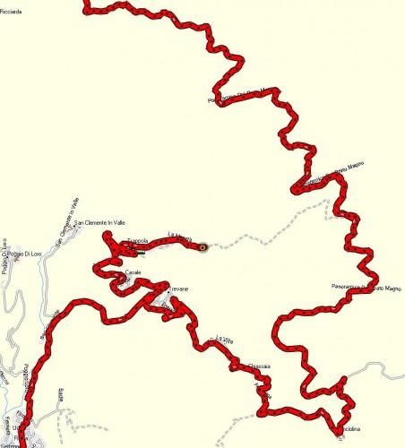 Kart over Trappola