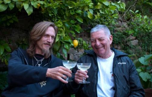 Haeggis og Marty med Martini