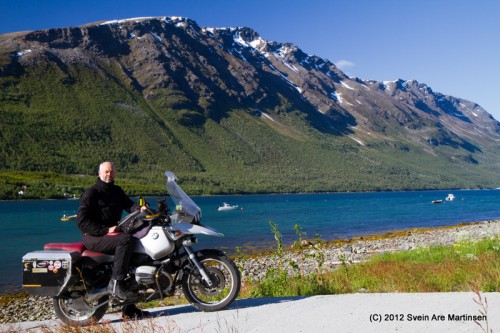 Tryggve og Uløya i Troms