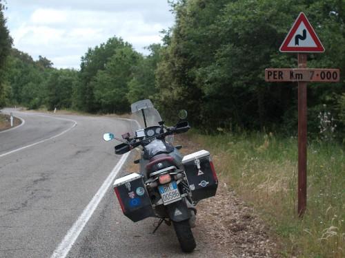 Syv km med svinger