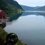 Selfie ved Sognefjorden
