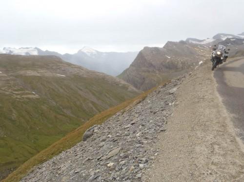 Motorykkel på Col de L'Iseran