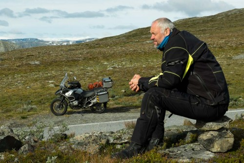 På fjellet mellom Turtagrø og Årdal